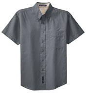 Easy Care Wrinkle Resistant Short Sleeve Shirts - Men's