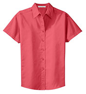Ladies Easy Care Short Sleeve Shirt