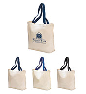 Tote Bags Colored Handle
