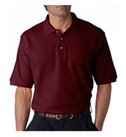 Sport Shirt 100% Cotton Pique Mens