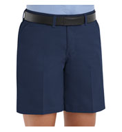 Plain Front Ladies Shorts