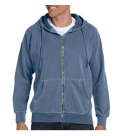Hood 100% Garmet-dyed Full-zip Mens