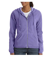 Hood Garment-dyed Full-zip Ladies'