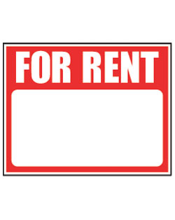 Real Estate Signs For Rent