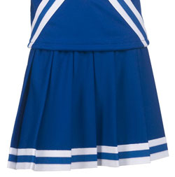 Teamwork Athletic Skirt 4064 Pleated With Trim Girls