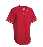 Teamwork Baseball Jerseys 1815B 6-Button With Sewn-On Braid Youth