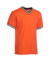 Teamwork Baseball Shirt 1269 V-Neck Youth