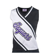 Girls Deluxe Contrast Cheer Shell