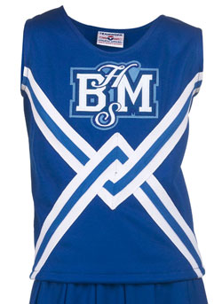 Teamwork Athletic Cheer Shell 1062 Deluxe Crossoverl Girls