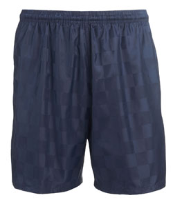 Teamwork 4616 Checkboard Soccer Shorts - Youth