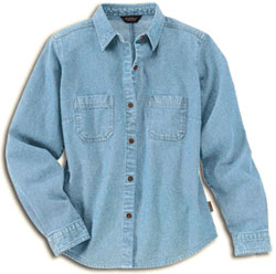 Woolrich Denim Shirt Denver Womens