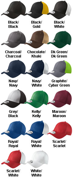 New Era®  Adult Stretch Mesh Cap - All Colors