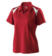 Ladies Laser Coaches Polo by Holloway