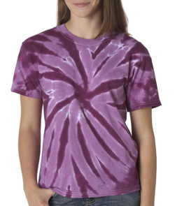 Gildan Pinwheel Tie Dye T-shirts - Youth