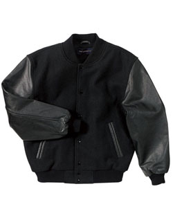 Jacket Leather Classic Black On BlackYouth