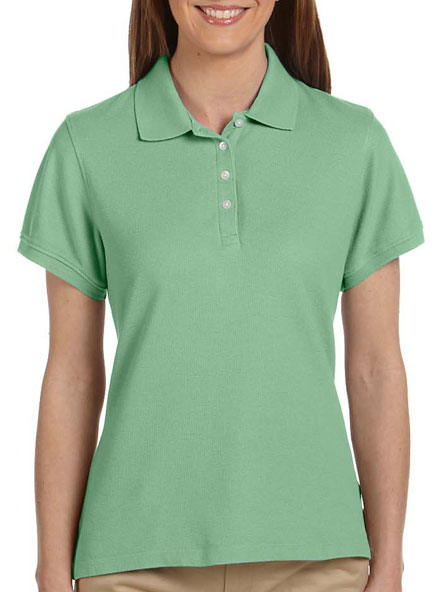 Performance Plus Pique Logo Polo - Womens