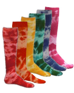 Tie Dyed Socks - Adult