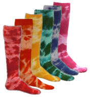 Adult Tie Dyed Socks