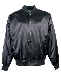 Baseball Jacket Pro-Satin With Solid Trim And Flannel Lining Youth