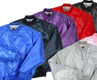 Youth Pro-Satin Baseball Jacket with Quilt Lining - All Colors