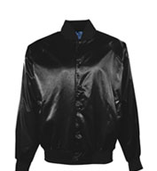 Youth Pro-Satin Baseball Jacket with Quilt Lining