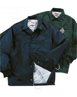 Oxford Quilted Lined Sports Coaches Jacket - Mens