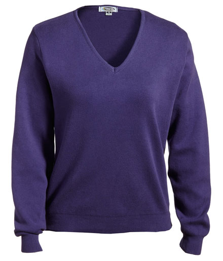 Sweater Pullover V-Neck Ladies