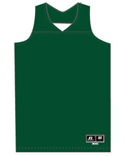 Russell Athletic Reversible Basketball Jerseys Womans