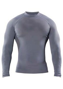Russell Athletic Compression Shirt NXT Long Sleeve Mock Neck Youth