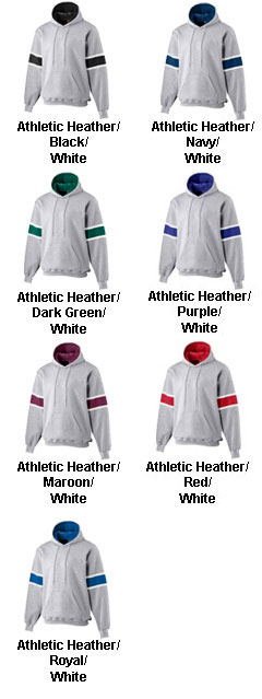 Youth Heavyweight Three-Color Hooded Sweatshirt - All Colors