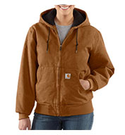 Carhartt Womens Sandstone Active Jacket/Quilted Flannel Lined