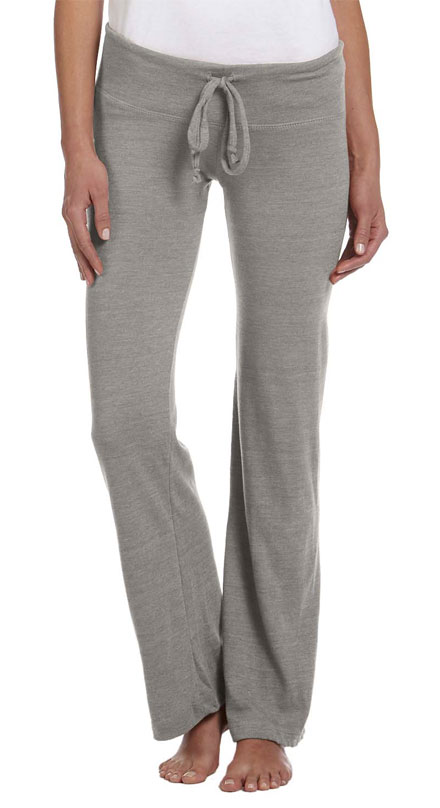 Alternative Apparel Pant Eco Heather Wide Leg Ladies