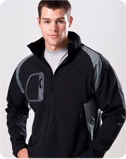 Jacket Whistler Bi-Color Softshell Mens