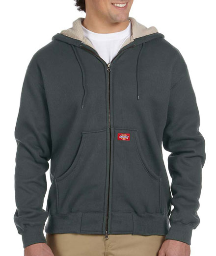 Dickies Bonded Waffle Knit Hooded Jacket - Mens
