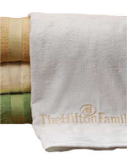 Bamboo Towels Beach