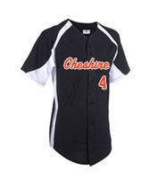Teamwork 1201B Clutch Full Button Baseball Jersey - Youth