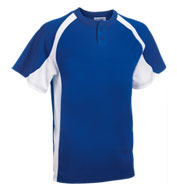 Teamwork 1230P Line Drive 2-Button Jersey - Adult Mens