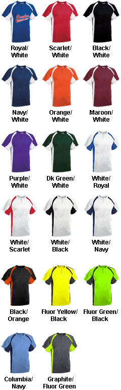 Youth Line Drive 2-Button Jersey - All Colors
