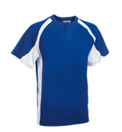 Teamwork 1200P Line Drive 2-Button Jersey - Youth
