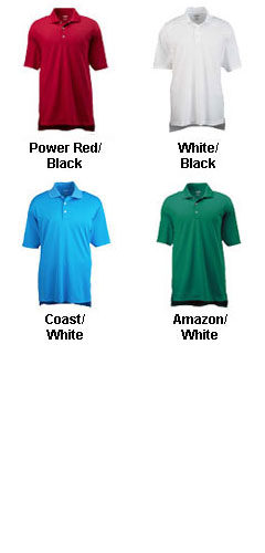 Adidas Golf Mens ClimaLite® Short-Sleeve Piqué Polo - All Colors