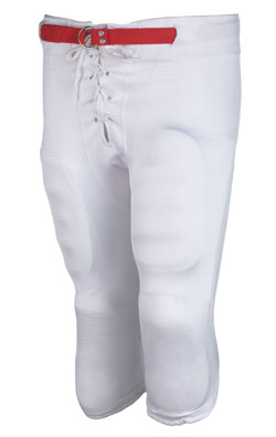 Teamwork 3329 Shotgun Slotted Waist Lycra Football Pant - Adult Mens