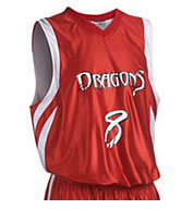 Adult Downtown Reversible Basketball Jersey Mens