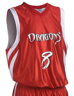 Teamwork 1409 Reversible Downtown Basketball Jerseys - Youth