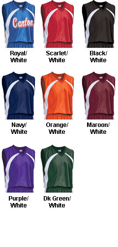 Adult Tip Off Basketball Jersey - All Colors