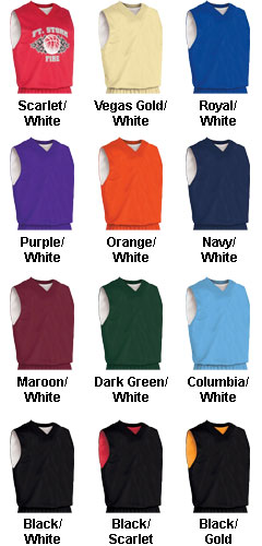 Custom Adult Fadeaway Reversible Basketball Jersey - All Colors
