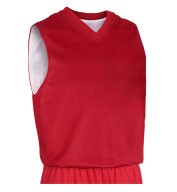 Adult Fadeaway Reversible Basketball Jersey Mens