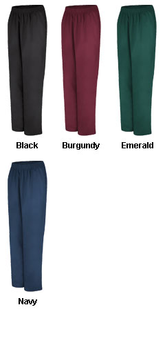 Womens Pull-On Elastic Waist Pant - All Colors