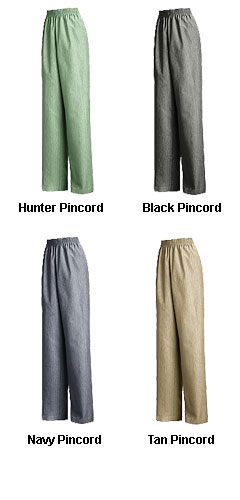 Womens Easy Pull-On Slacks - All Colors