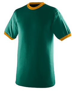 Augusta Imprinted 50/50 Ringer T-shirt - Youth