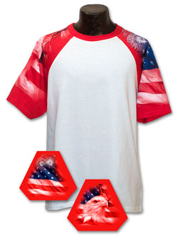Patriotic Theme Tshirt - Adult